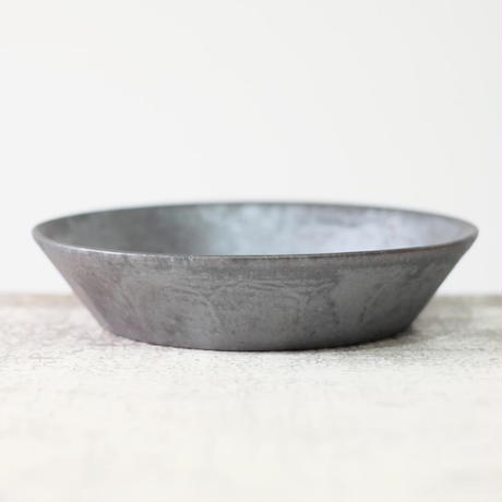 kobo  syuro  銀彩釉 面取鉢