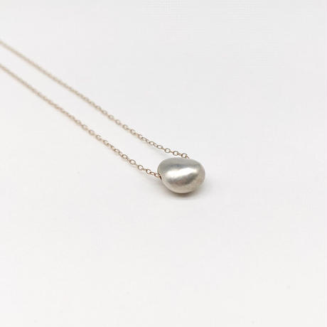 y.h.a accessories / K10 ネックレス(SilverPearl・S)(実物写真439)