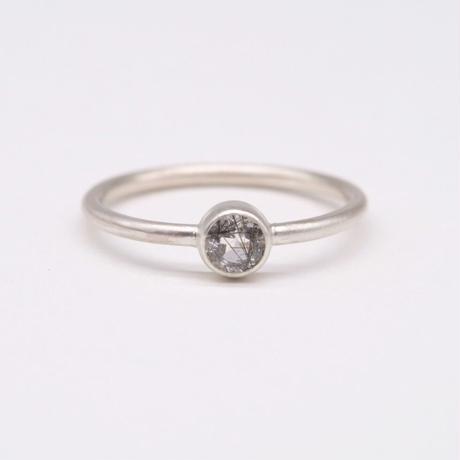 y.h.a accessories / リング/ Silver・トルマリンクォーツ /11号 (実物写真841)
