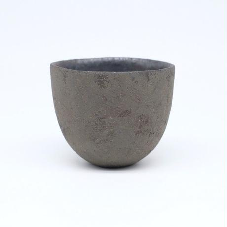 高田かえ / グレー土釉薬 カップ(実物写真509)