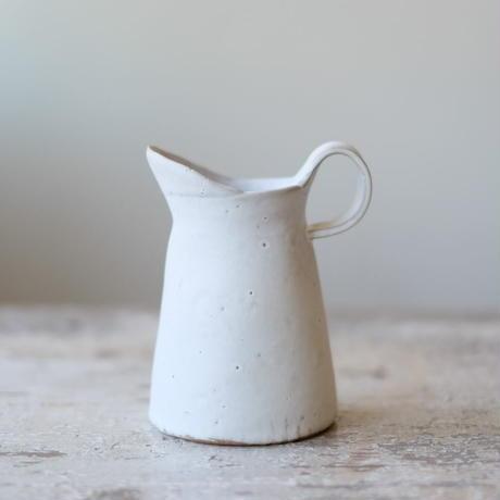 teto ceramic ピッチャー 小・白マット