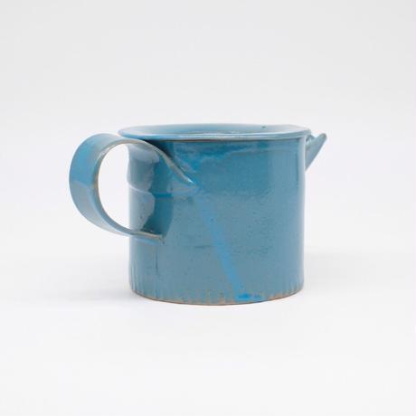 teto ceramics / ポット・モロッコブルー (実物写真766)