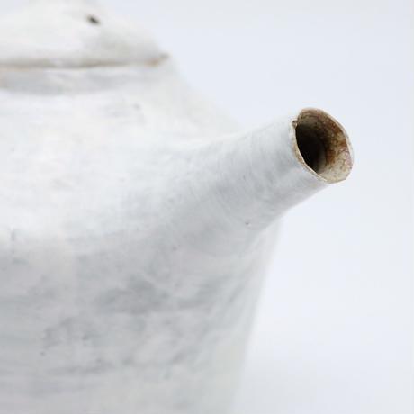 比地岡 陽子 / 粉引ポット 大  (実物写真689)