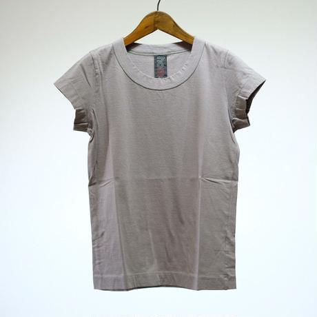 homspun / 天竺 フレンチスリーブTシャツ (グレー)