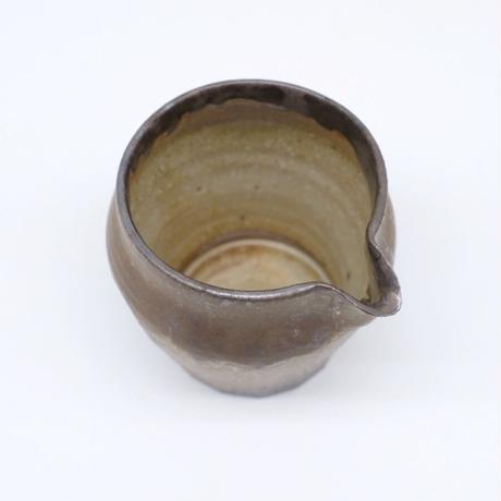 比地岡 陽子 / 金彩釉片口・小 (実物写真1085)