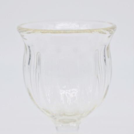 森永 豊 / 引き脚ワイングラス(実物写真1104)