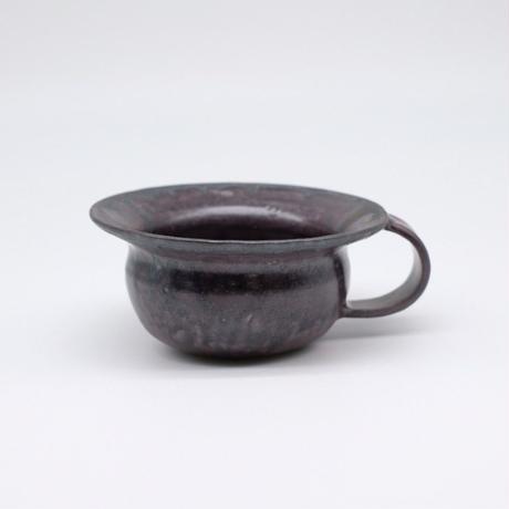 比地岡 陽子 / 銀彩釉スープカップ (実物写真74)