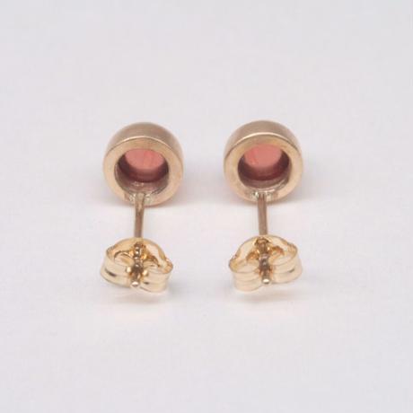 y.h.a accessories / K10 ピアス・  Garnet (実物写真856)