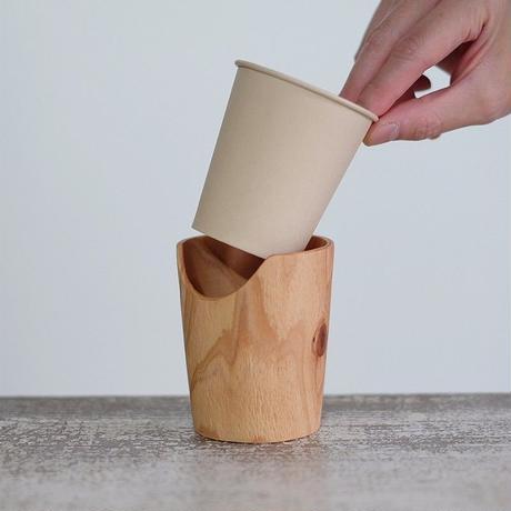 FUQUGI 木製カップホルダー(実物写真) 4
