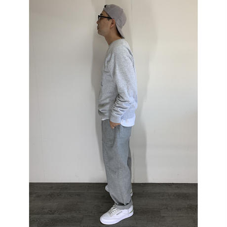STUMPSTAMP LOOSE FIT EASY PANTS (WOOL/CASHMERE)LIGHT GRAY