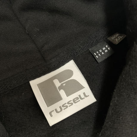 Custom Option For Russell Europe Authentic Hooded Sweat(BLACK)