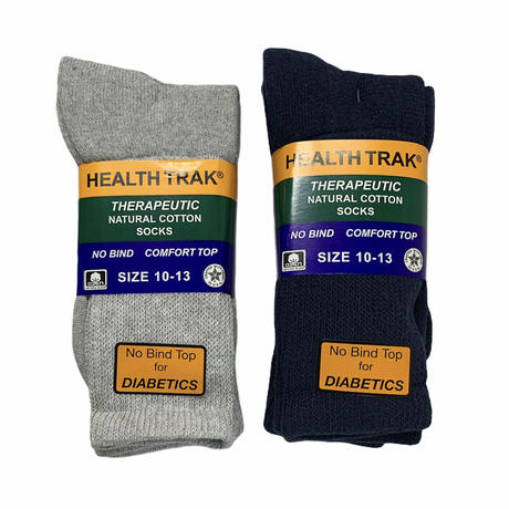 RAILROAD SOCK HELTH TRAK THERAPEUTIC SOCKS (2pack) (LIMITED COLOR)