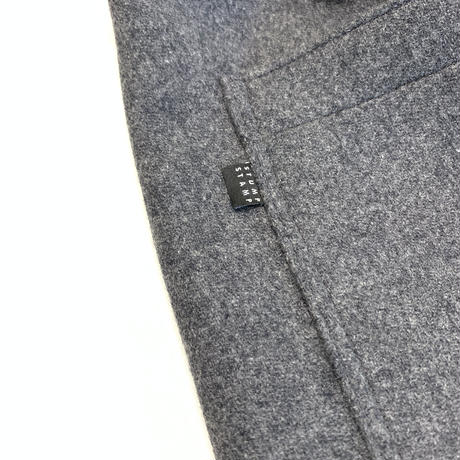STUMPSTAMP LOOSE FIT EASY PANTS (WOOL/CASHMERE) CHARCOAL GRAY