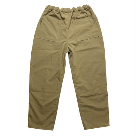 "STUMPSTAMP LOOSE FIT EASY PANTS ""COTTON RIP STOP"" (COYOTE BROWN) )"