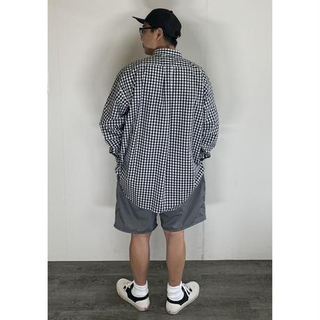 STUMPSTAMP  PUCKERING BIG SHORTS (DARK GRAY)