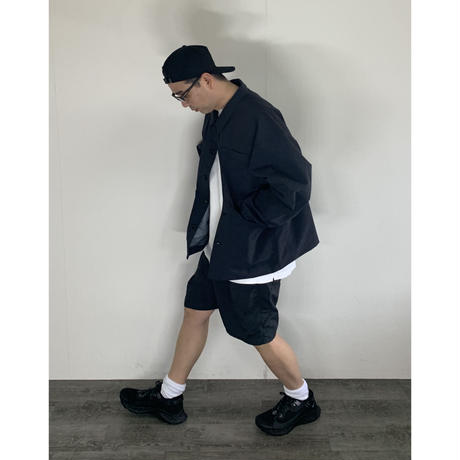 STUMPSTAMP  PUCKERING BIG SHORTS (BLACK)