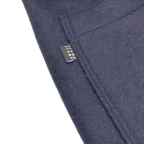 STUMPSTAMP LOOSE FIT EASY PANTS (WOOL/CASHMERE) DARK NAVY