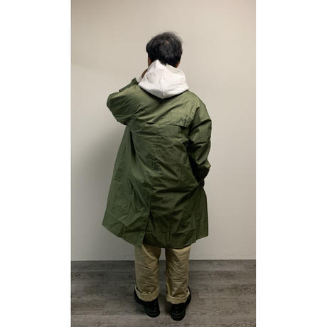 DEAD STOCK FRENCH ARMY  LONG RAIN COAT(OD)