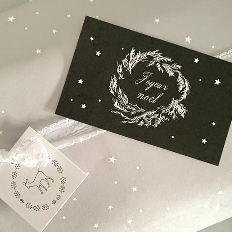 N-41messagecard ★ Joyeux Noel 25枚