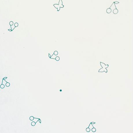 【ゆうパック】50枚 ★ wrapping paper A3  petit cerise&papillon