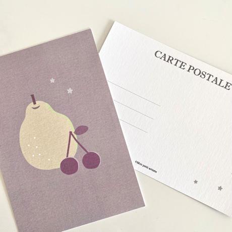 ポストカード ♡ poire&cerise