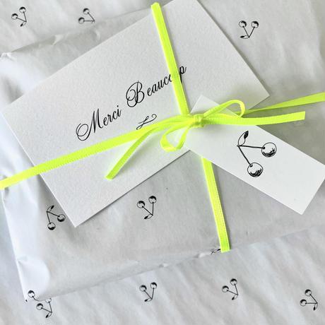 【ゆうパック】 100枚 ★ wrapping paper A3   Cerise