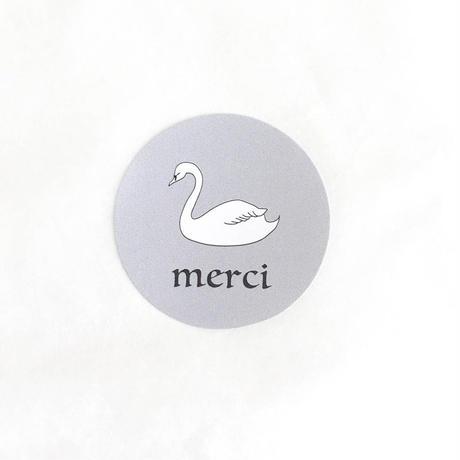シール ★ swan (30枚入り)