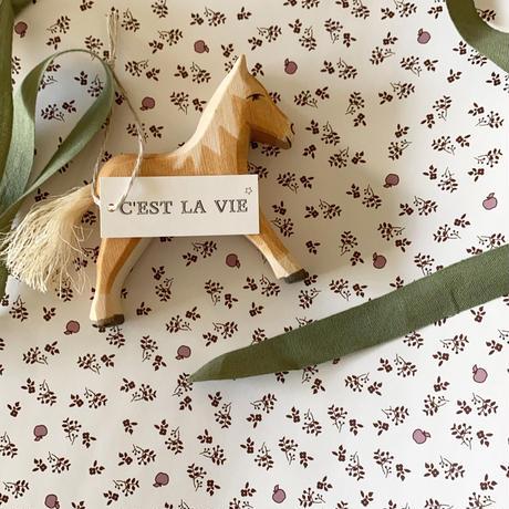 【ゆうパック】 30枚 ★ wrapping paper A3 la pommeraie