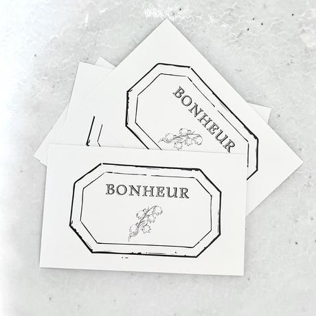 M-105 messagecard ★ muguet Bonheur 25枚