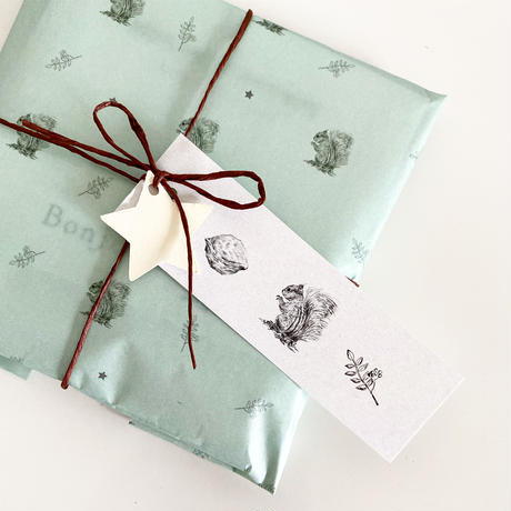 【ゆうパック】 30枚 ★ wrapping paper A3  ecureuile