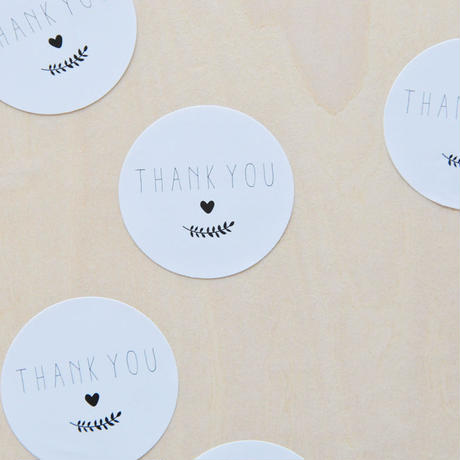 thank you ★ sticker petit wreath (25枚入り)