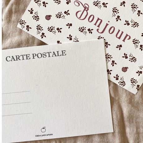 ポストカード ♡ la pommeraie