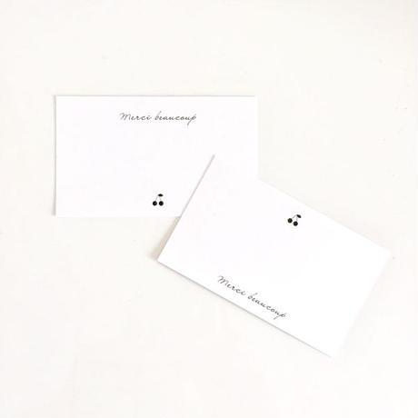 M-49  messagecard ★ Carte cerise  30枚/2種