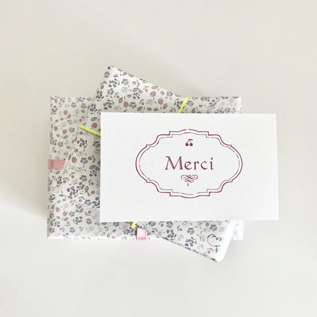 【ゆうパック】 50枚 ★ wrapping paper A3 Bonjour mon petit lapin