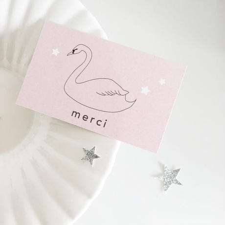 M-50 messagecard ★ Swan romantique 30枚