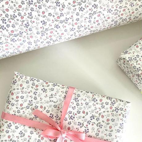 【ゆうパック】 30枚 ★ wrapping paper A3 Bonjour mon petit lapin