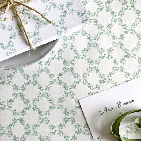【ゆうパック】10枚 ★ wrapping paper A3  Sur l' herbe