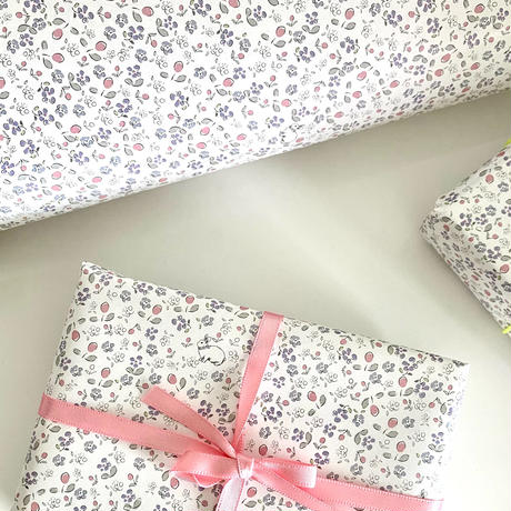 【ゆうパック】 10枚 ★ wrapping paper A3 Bonjour mon petit lapin