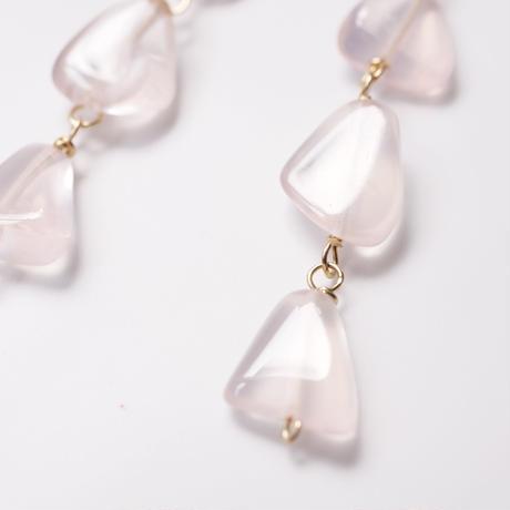 Rose quartz long P