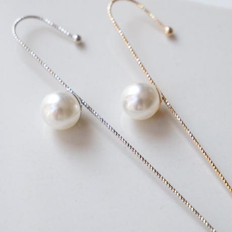 candystick white pearl cuff