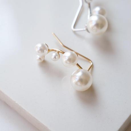 many pearl ear cuff