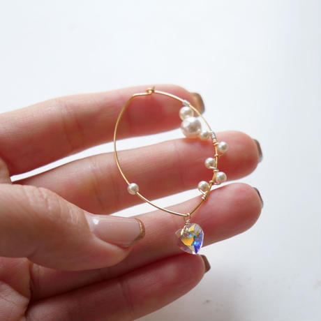 swing heart asymmetry pearl
