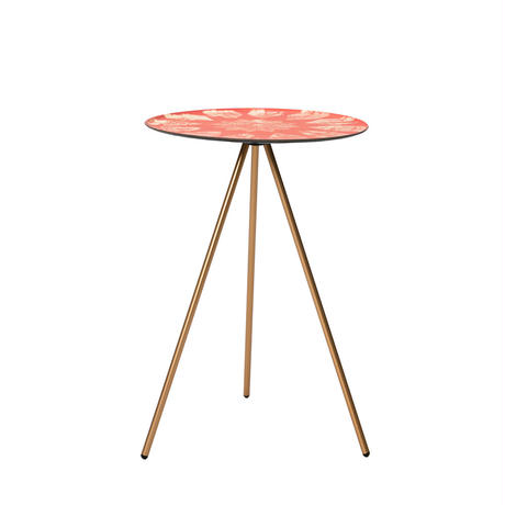 MONRO x HELINOX  TABLE O (SMALL SIZE) | STUMP ORANGE