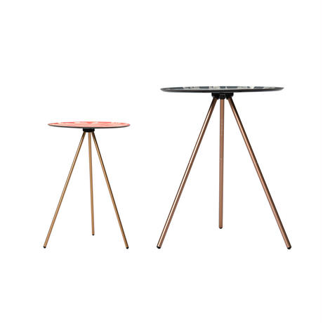 MONRO x HELINOX  TABLE O (MEDIUM SIZE) | STUMP CHARCOAL GRAY