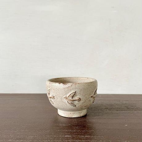 fuji-gallery|おちょこ(鳥/土)