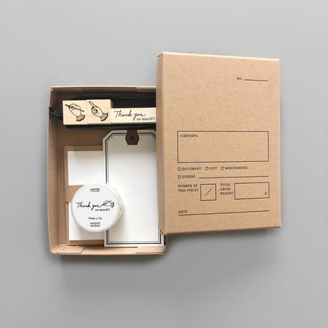 KNOOPWORKS  スタンプでつくる小さなお手紙ボックス【限定デザイン】