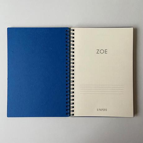 &PAPERS ZOE 2022年スケジュール帳 K