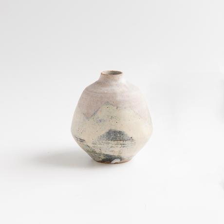 acne pottery studio 33動物の絵の豆花器