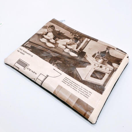 LIFE AND BOOKS|OLD PAPER POUCH (L)7-4