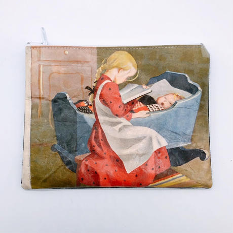 LIFE AND BOOKS|OLD PAPER POUCH (L)7-1
